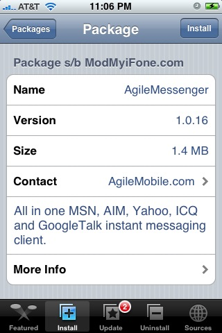 AgileMessenger 1.0.16 – Multi Service Chat Application