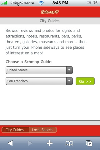Schmap.com – City Guides & Local Search