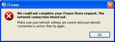 iTunes Activation Error with iPhone 3G