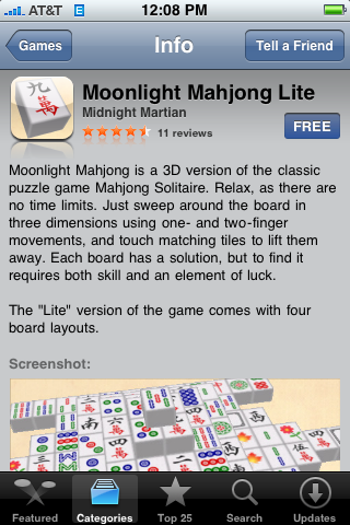 Moonlight Mahjong Lite 1.0.1