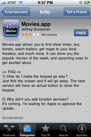 Movies.app 1.0