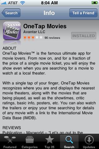 OneTap Movies