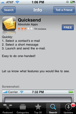 quicksend
