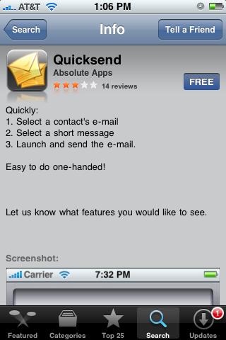 QuickSend 1.0