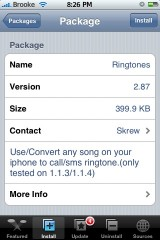 Ringtones 2.87
