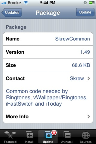 vWallpaper 0.93 & SkrewCommon 1.49