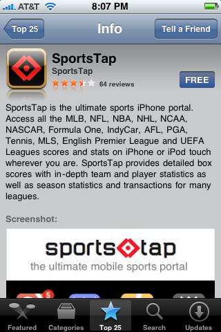 SportsTap 1.0