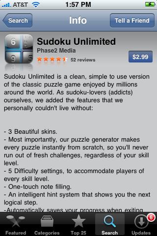 Sudoku Unlimited 1.0