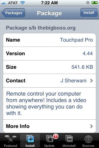 TouchPad Pro 4.44