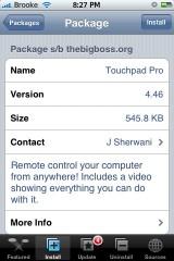 TouchPad Pro 4.46