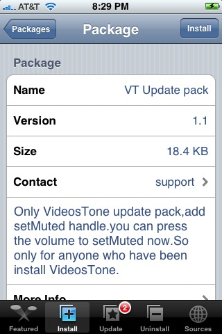 VT Update Pack 1.1 – for VideosTone