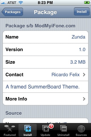 Zunda – SummerBoard Theme