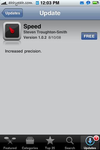 Speed 1.0.2 Update