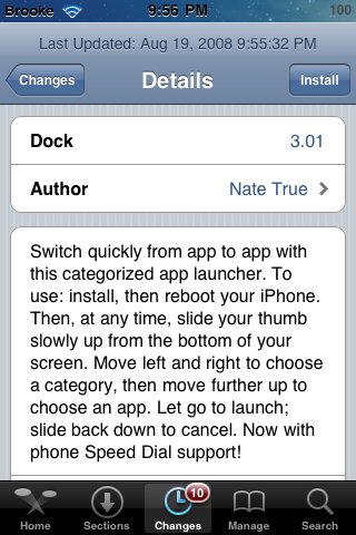 Dock – Ported to Firmware 2.0