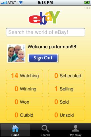 eBay Mobile 1.0.1
