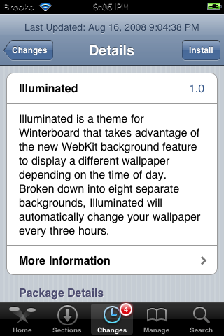 Illuminated – WinterBoard Theme