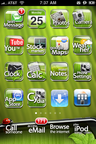 Leaf Theme for WinterBoard