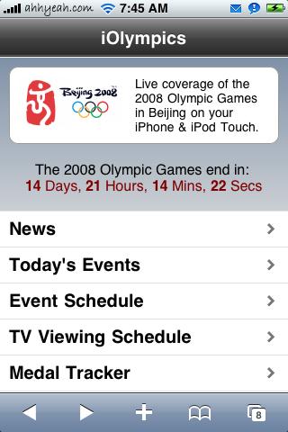 iOlympics