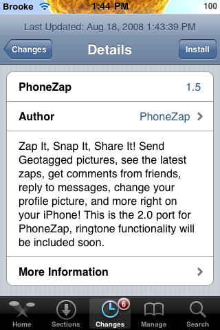 PhoneZap 1.5