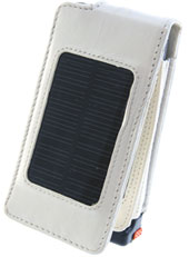 Solar Powered iPhone 3G Case