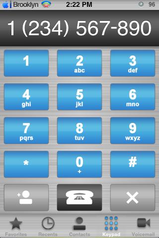 Metal iPhone Aqua for Winterboard
