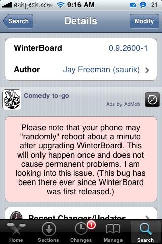 App Ratings Coming to Cydia