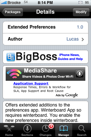 Extended Preferences 1.0