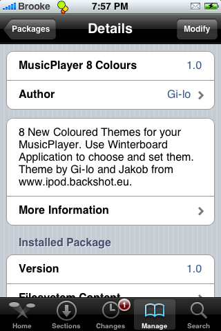 MusicPlayer Mod – WinterBoard