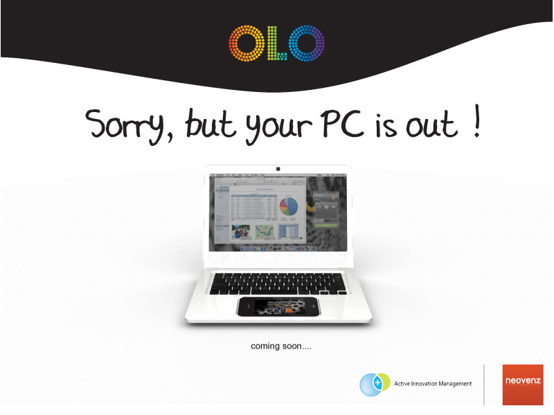 OLO Computer – iPhone Docks as Trackpad Mouse