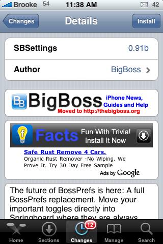 SBSettings 0.91b