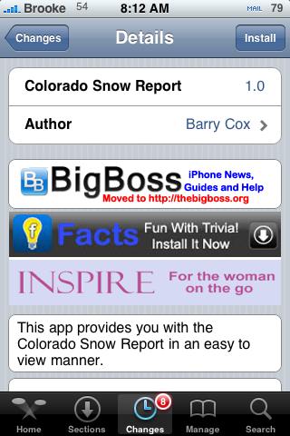 Snow Report 1.0