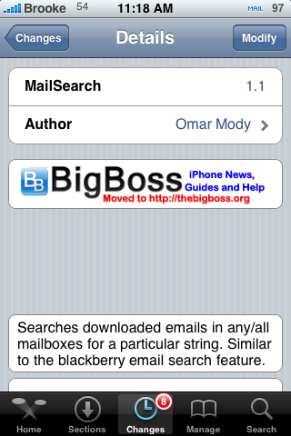 MailSearch 1.1