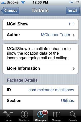 MCallShow 1.1