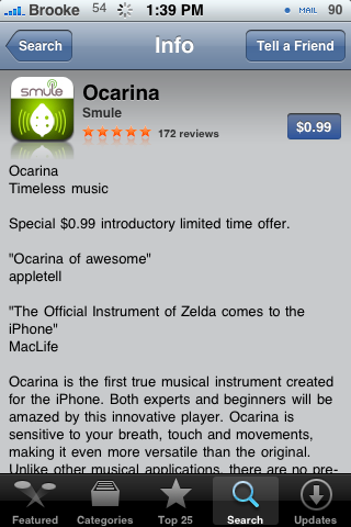 Ocarina – A Musical Application