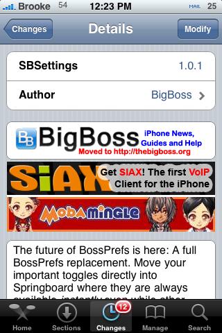 SBSettings 1.0.1