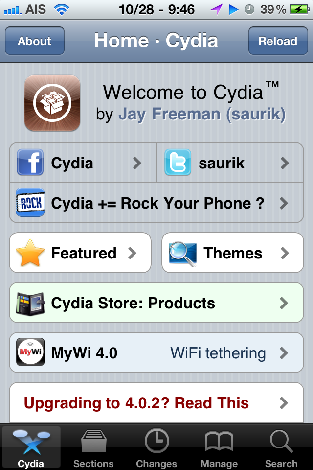 What is Cydia?