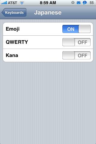 Activate Emoji (Japanese Emoticons)