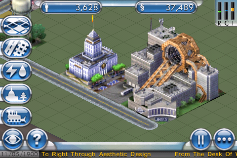 Sim City for the iPhone – Cheats