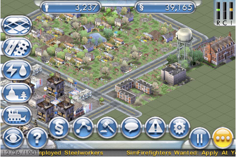 SimCity Coming to the iPhone and iPod Touch!