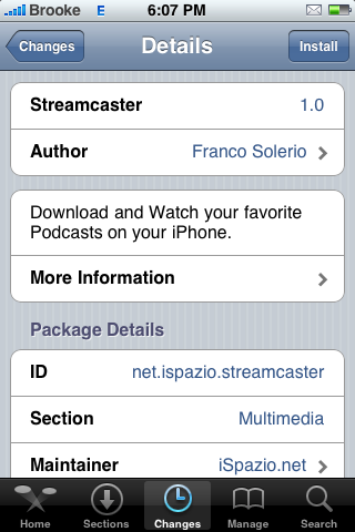 Streamcaster – Download and Watch Video Podcasts