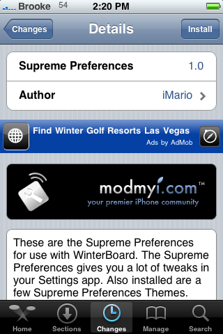 Supreme Preferences – Adds Additional Settings Options
