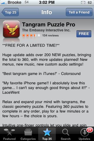 Tangram Puzzle Pro – A Tangram Puzzle Game