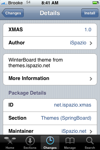 WinterBoard Themes and Mod