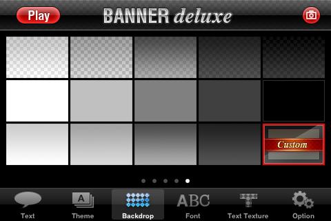 Banner Deluxe Update