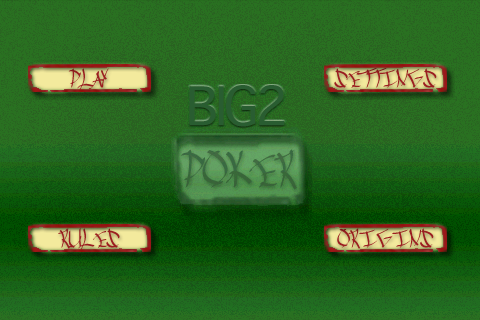 Big2 Poker – Card Game Similar to Big 2 or Cheat
