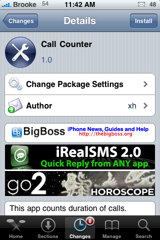 CallCounter – Keep Track of Call Information