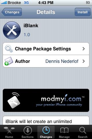 iBlank – Easily Create Blank Icons