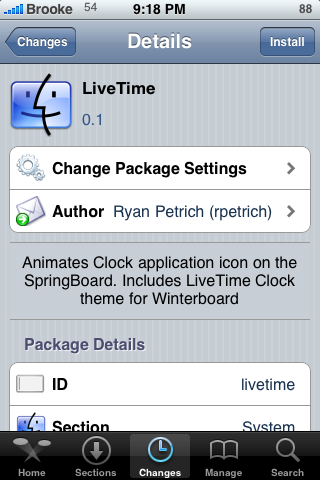 LiveTime – Animated Clock Icon