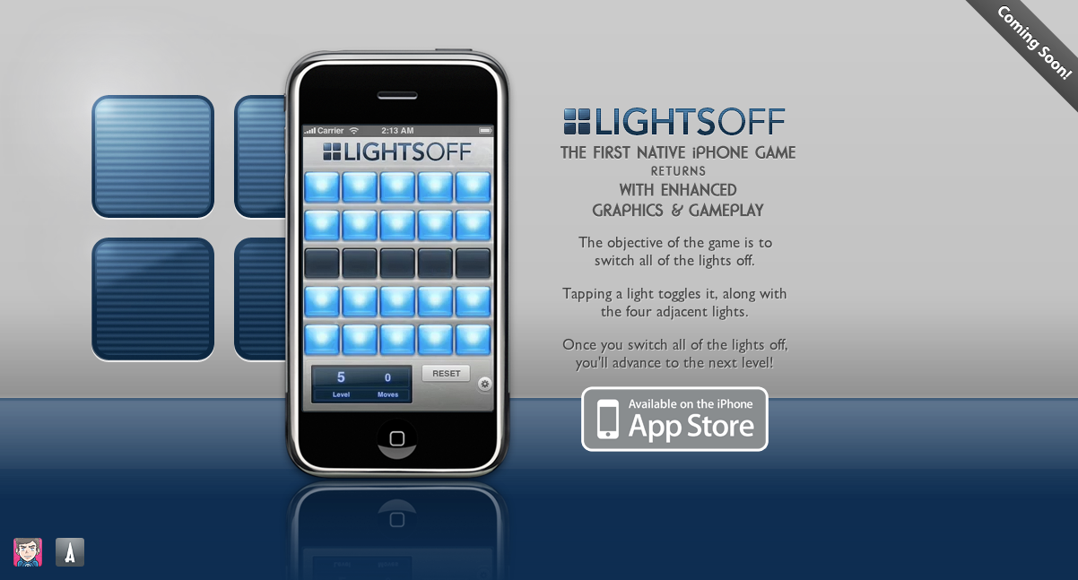 Lights Off Development Finished, Coming to App Store Soon