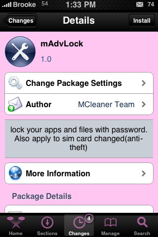 mAdvLock – Password Protect Applications and Sim Card…Encrypt Files